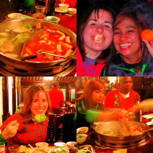 hotpot for Thanksgiving in Jiaxing China